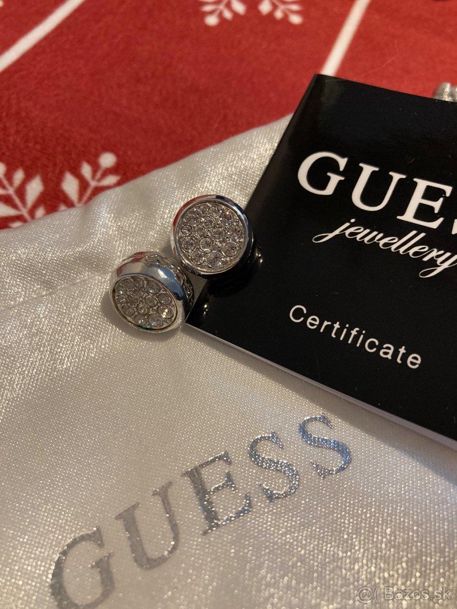 Predám - náušnice značky GUESS - originál s visačkou a bal.