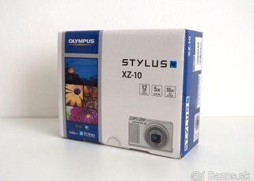 Olympus Stylus XZ-10 F1.8, Čierny (nový + obal + karta)