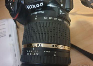 NIKON D3200 objektiv tamron 18-270