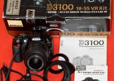 zrkadlovka Nikon D3100 + príslušenstvo