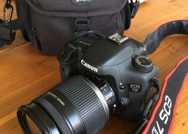 Canon EOS 7D+EFS 18-200