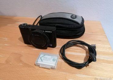 Fotoaparát SONY Cybershot DSC-RX100 20MP čierny + púzdro