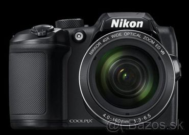 Predám úplne nový Nikon Coolpix B500 čierny