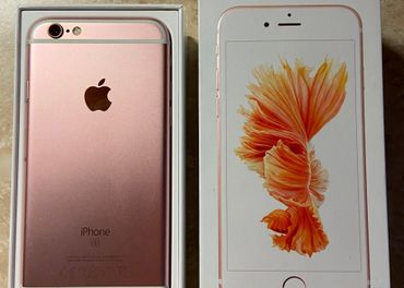 iPhone 6s 16 GB Rosegold