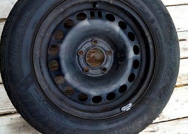 4 x koleso so zimnými pneumatikami na Opel Meriva