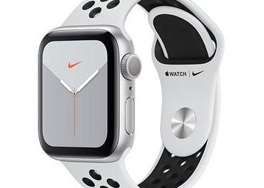 Apple Watch series 5 Nike 40mm silver