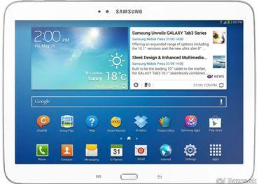 Predam nefunkcny tablet SAMSUNG Tab3 10.1 16GB 3G P5200.