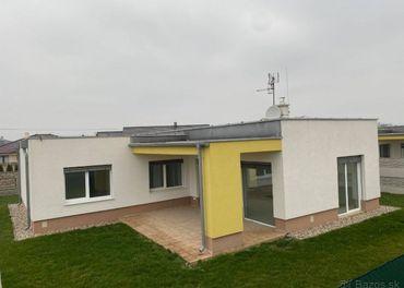 4 izbový rodinný dom v Topoľníkoch - novostavba
