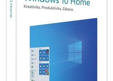 Windows 10 Home  Doživotná Retail Licencia