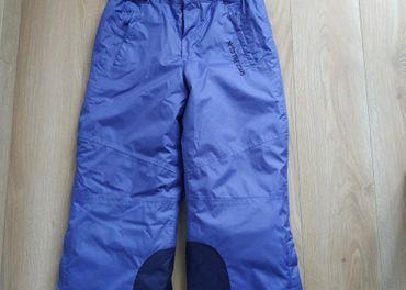 Lyžiarske nohavice -otepľovačky