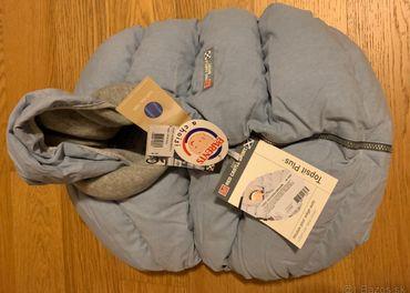 Zimný návlek na nosič - sedačku