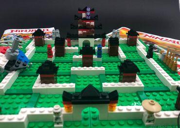 Stolná hra Lego Ninjago
