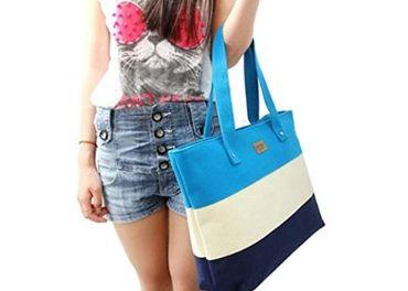 Dámska taška modrá