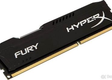 HyperX 8 GB DDR3 1866 MHz CL10 Fury Black Series