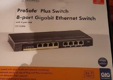 Netgear prosafe plus switch 8-port gs108pe v2