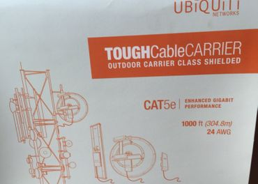 Ubiquity tough cable carrier