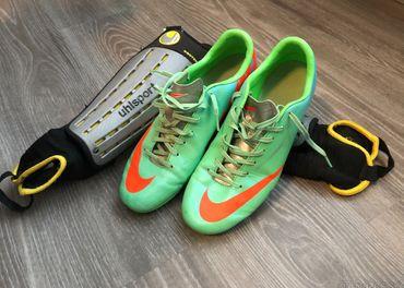 Kopačky Nike + chrániče uhlosport