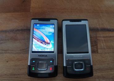 Nokia 6500s 2kusy druhý na náhradné diely.