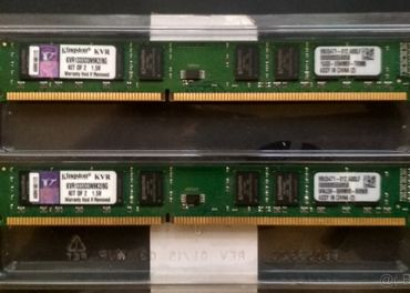 Kingston DDR3 2x4GB (8GB) 1333MHz CL9 KVR1333D3N9K2/8G