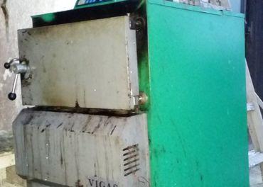 kotol na drevo Vigas 25 s digit. nastav. casu zapinania + vy