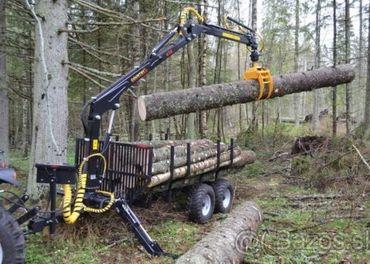 Vývozka - vyvážačka Country na drevo za traktor, malotraktor