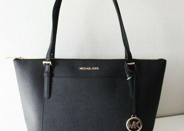 Nová dámska kabelka Michael Kors Ciara Black-Gold