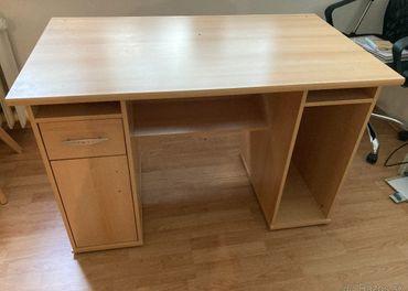 2x Kancelársky písací stol 117 cm sirka