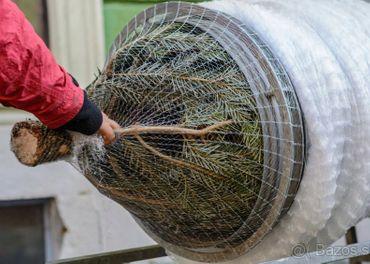 Sieť na balenie stromčekov 34cm, 45cm, 55cm - dlžka 300m