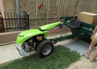 Nový malotraktor+vlečka=4x4-12HP DIZEL lacnejšie o 1450€