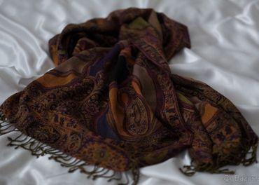 Vlnený šál - nový