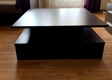 Konferencny stolik ( 90x90x37 )