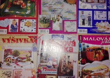 časopisy na vyšívanie