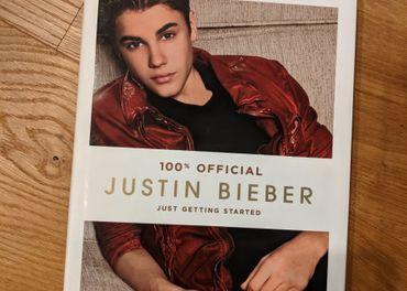 Justin Bieber - Just Getting Started (kniha)
