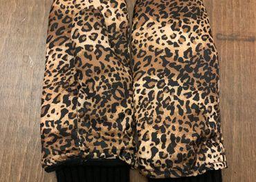 Štýlové palčiaky a šatka- leopardí vzor