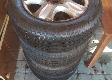 zimné pneu 215/55 R16 s ALU diskami 5x112 r16