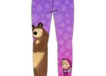 Máša a medveď legíny od 98cm po 128cm