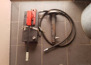 Hydraulická pumpa,piestnica,hadice
