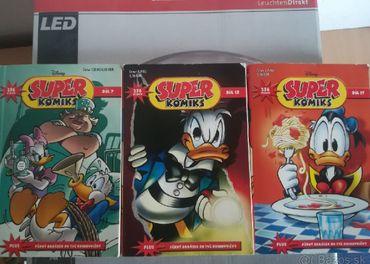 donald duck super komiksy 3ks