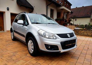 Suzuki Sx4 ,1.6 benzin, 4x4 ,kupene v SR ,1.majitel