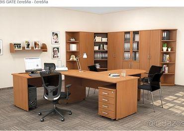 Kancelársky stôl s  uzamykacím kontajnerom