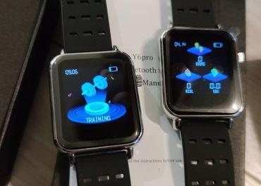 Bakeey y6 pro Smart hodinky s bluetooth volanim