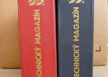 Technický magazín - zviazané 1962, 1963