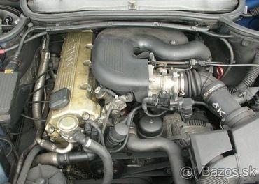 Prodám motor z BMW e46 318i M43B19, kod 194E1,perfektní stav