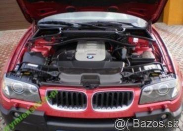 Prodám motor z BMW x3 3,0d 150kw 306D2 , najeto 180 tis km