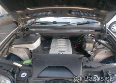 Prodám motor z BMW X5 e53 3,0d 135kw 306D1, najeto 240tis