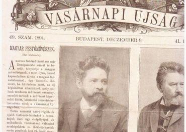 predám 125 ročný maďarský časopis -Vasárnap