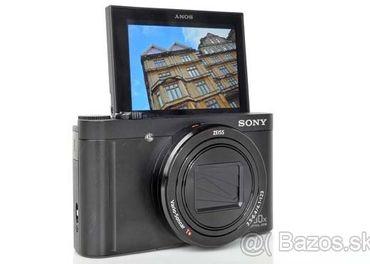 Sony DSC-WX500, spolu S DODATOČNÝM PRÍSLUŠENSTVOM