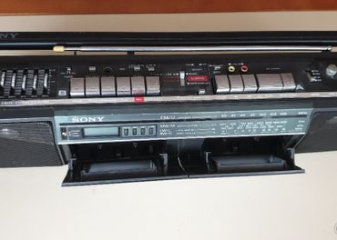 Sony stereo radio