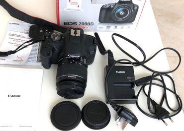 Fotoaparát Canon EOS 2000D Rebel