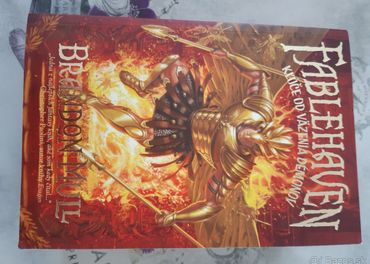 Predám knihu zo série Fablehaven od Brandona Mulla